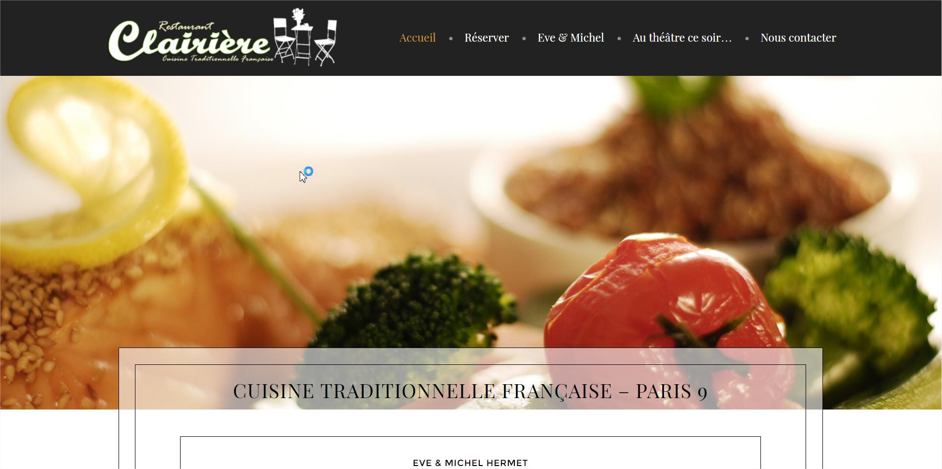Restaurant Clairière - Paris 9e