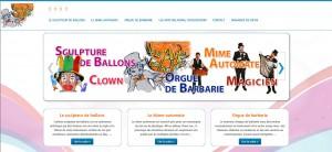 Les Arts Baladins - sculpteur de ballons - Mime-automate - Orgue de barbarie