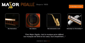 Major Pigalle - Site Corporate