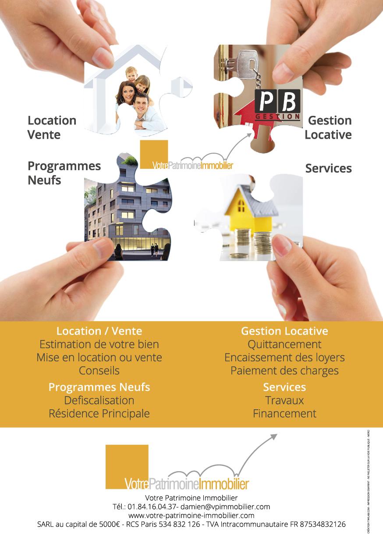 Flyer A5 - VPI - Votre Patrimoine Immobilier