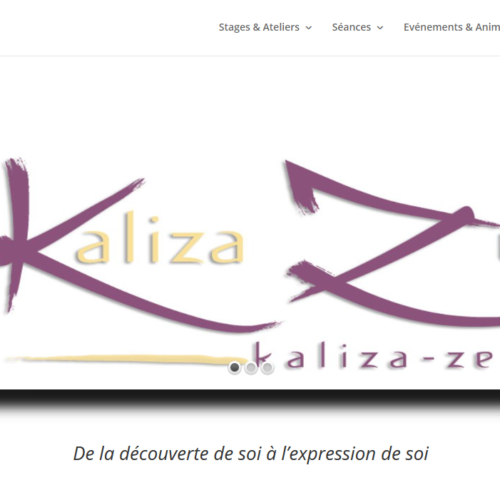 Agence-Web-Communication-digitale-Webdesign-Paris-Kaliza Zen