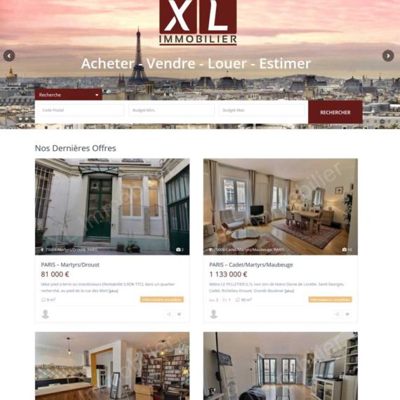 Agence-Web-Communication-digitale-Webdesign-Paris-XL-Immobilier