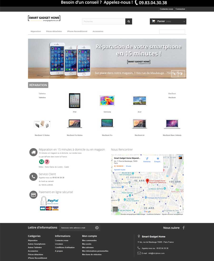 Agence-Web-Communication-digitale-Webdesign-eBoutique-Smart-gadget-home