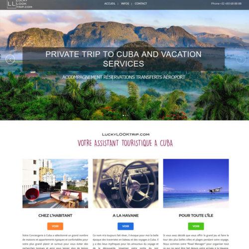 Tourisme - Voyage - Conciergerie - Cuba